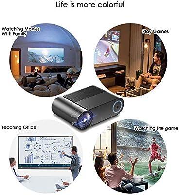 XXF Mini Proyector, Proyector Portátil De Video Home Cinema ...