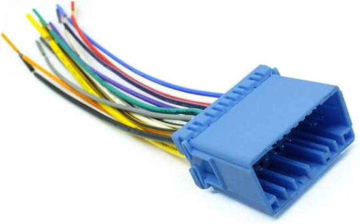 bp wiring harness amazon com helen box car audio stereo cd wiring harness female  car audio stereo cd wiring harness