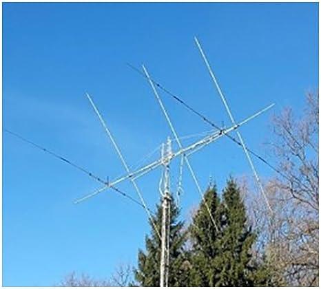 Quad Cubical Antena 3 Elementos 20/15/15/12/14 10 m/17/21 ...
