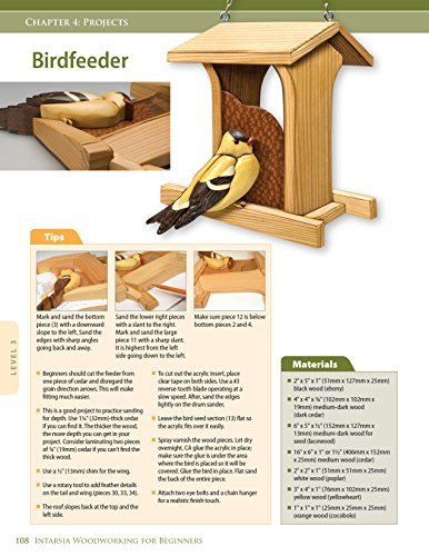 Intarsia Woodworking For Beginners Skill Building Lessons For Import