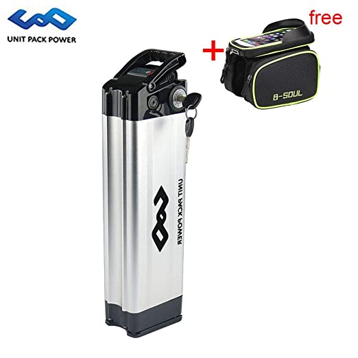 uppcycle Batería de Litio para Bicicleta eléctrica, batería para ...