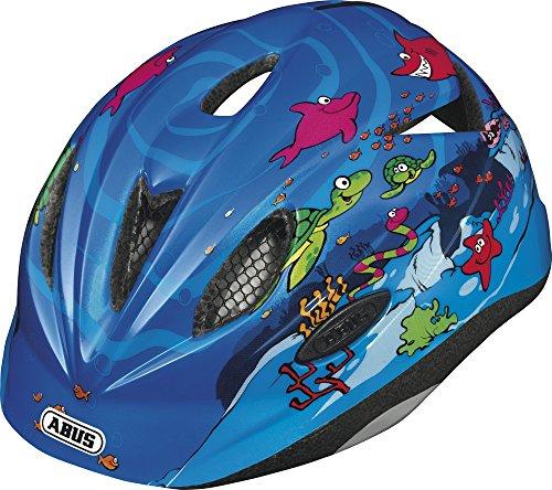 ABUS Kinder Fahrradhelm Rookie, Ocean, 52-57 cm, 11327-7