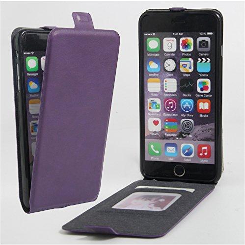 Funda iPhone 6 Plus/ iPhone 6S Plus,Manyip Caja del teléfono del cuero,Protector de Pantalla de Slim Case Estilo Billetera con Ranuras para Tarjetas, Soporte Plegable, Cierre Magnético G