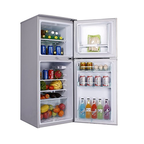 Cowin Solar 12 volt refrigerator with Both door, big capacity 1..5 cu.ft/5.9 cu.ft
