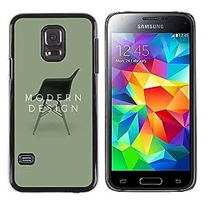Exotic-Star ( Design Interior Chair Art ) Fundas Cover Cubre Hard Case Cover para Samsung Galaxy S5 Mini / Samsung Galaxy S5 Mini Duos / SM-G800 !!!NOT S5 REGULAR!