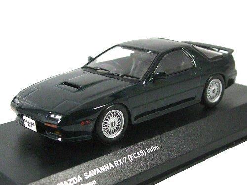 1/43 マツダサバンナ RX-7(FC3S)アンフィニ4(シェイドグリーン) 「ダイキャストモデルシリーズ」 K03303GR