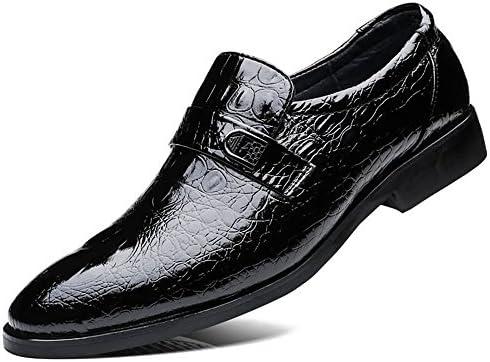 クラシックファッションフォーマルシューズメンズビジネスオックスフォードカジュアルスタイルラグジュアリーワニ本革 快適な男性のために設計