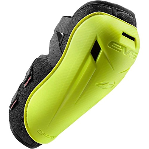 EVS 2016 Option Youth Elbow Guard Off-Road Motorcycle Body Armor - Hi-Viz Yellow/One Size by EVS Sports
