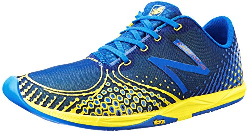 888098162721 - New Balance Men's MR00 Minimus Road Running Shoe,Blue/Yellow,11.5 D US carousel main 0