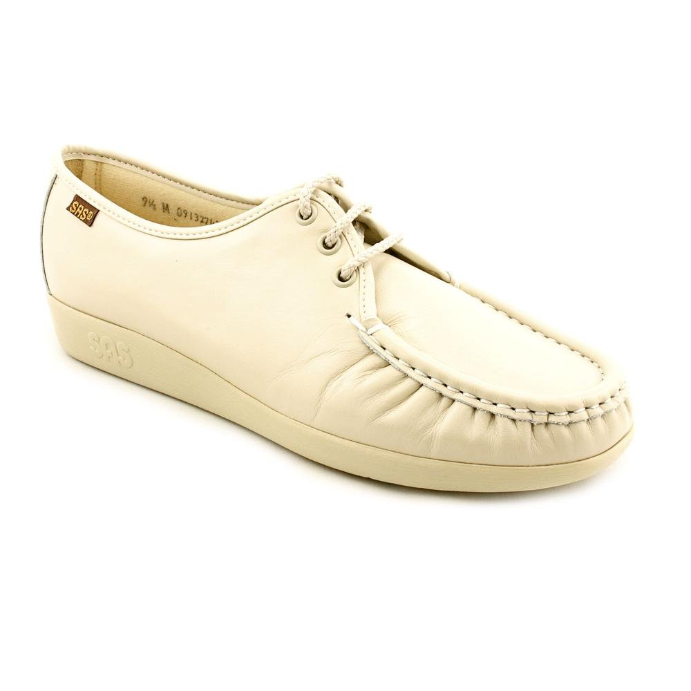 SAS Womens Siesta Leather Closed Toe B00J4RFC58 10 M (M) (B) US|Bone