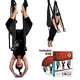 Black Yoga Inversion Swing + Yoga Swing DVD by Chris Acosta