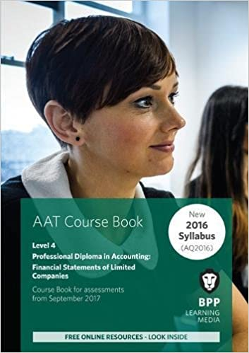AAT Financial Statements of Limited Companies: Coursebook