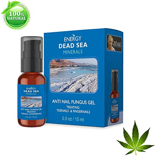 Cannabis Oil Nail Fungus All Natural Gel Treatment by Energy Dead Sea 15ml