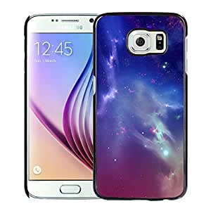 Beautiful Samsung Galaxy S6 Cover Case ,Outer Space Starry Nebula Black Samsung Galaxy S6 Phone Case Unique And Durable Designed Screen Case
