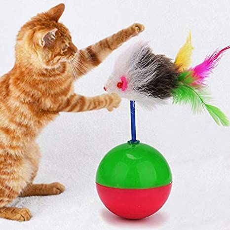 Amazon.com : Best Quality pet Dog ct Toys ct Funny Supplies Mouse Tumbler Toy Plush with blls ct Toys trining Toy Kitten Kitty Pets ccessories : Pet ...