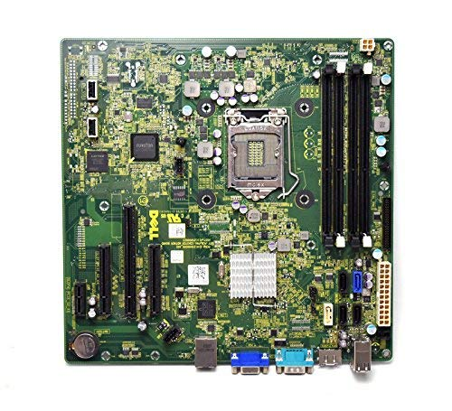 New Pull PM2CW Genuine OEM PowerEdge T110-II TRPM ESG Motherboard V3 Quad-Core 411C25000023 Main System Board LGA-1155 Socket DDR3x4 Slots T110 II Tower W6TWP 1XXXJ 2TW3W 72J5G 5RF4D 15TH9