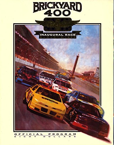 Brickyard 400 1994 Inaugural Race, Official Race Program (Race Inaugural)