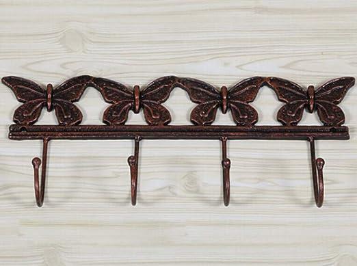 Joeesun Alto grado de hierro fundido mariposa artesanía ...