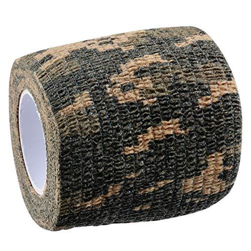 Tornado Camouflage Tape Self-Adhesive Camo Wrap Tape Cling Scope Wrap Military Camo Multifunction for Gun Rifle Shotgun Camping Hunting by Tornado (Image #1)