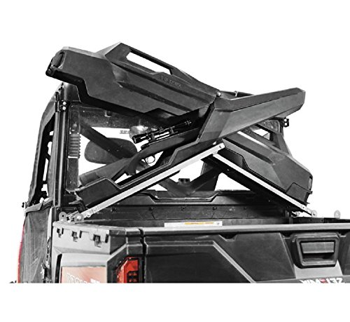 Orange Cycle Parts Armory X Rack Gun Case Rack for For Polaris Ranger (Full Size, Lock & Ride) and Bobcat Side by Side by Seizmik 07101 by Seizmik