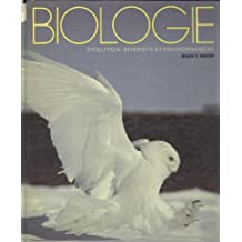 Biologie: évolution, diversité et environnement