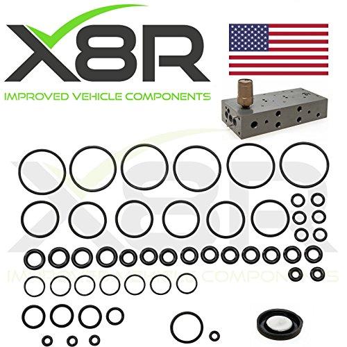 RANGE ROVER P38 EAS AIR SUSPENSION VALVE BLOCK O RING + DIAPHRAGM REPAIR FIX KIT PART: X8R26