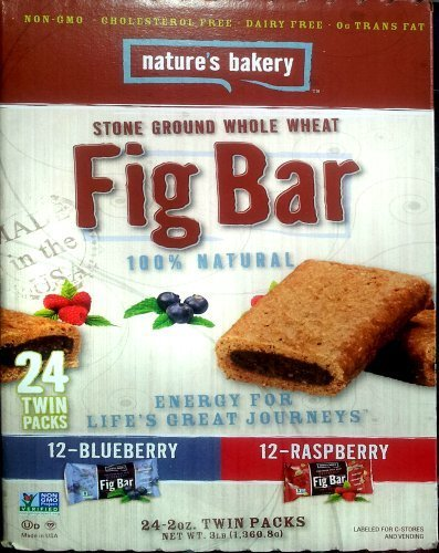 Nature's Bakery Stone Ground Whole Wheat Fig Bar 24 Twin Packs Home Grocery Product