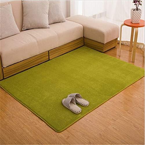 (BaiJu Fashion Memory Bedroom Rugs Mats Carpet Doormat for Hallway Living Room Kitchen Floor Outdoor Grass Green 800mm x 1600mm)