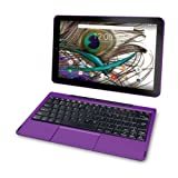 2018 Newest Premium High Performance RCA Galileo 11.5'' 2-in-1 Touchscreen Tablet PC Intel Quad-Core Processor 1GB RAM 32GB Hard Drive Webcam Wifi Bluetooth Android 6.0-Purple