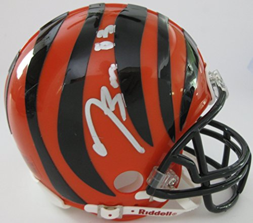 (Tyler Boyd Cincinnati Bengals, Signed, Autographed, Mini Helmet, a COA with the Proof Photo of Tyler Signing Will Be)