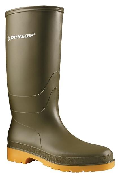 orologio 5b967 b152c Verde Green 42 EU Dunlop Protective Footwear Dunlop Dull Stivali ...