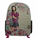 Wizards of Waverly Place Backpack Plum Tan Peacock Feather, Bags Central