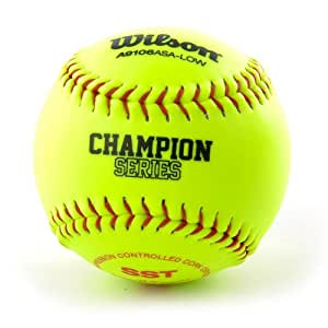 Wilson Softball a9106 Asa Low 12 Inch: Amazon.es: Deportes y aire ...
