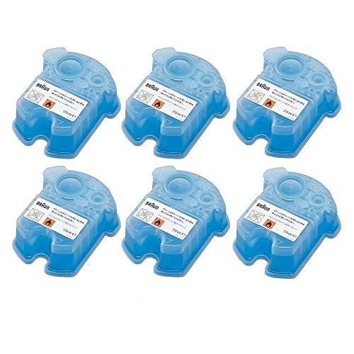 Price comparison product image Braun Syncro Shaver Clean & Renew Refills 6 Pack