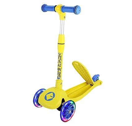 Amazon.com: Patinete de 3 ruedas para niños – perfecto para ...