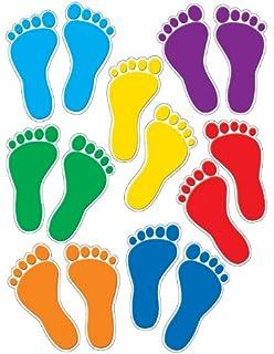 Vinyl Footprint Floor Stickers Gurus Floor