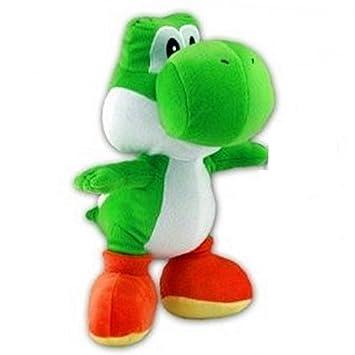 Nintendo XL Peluche Yoshi verde 38 cm – Peluche Super Mario de peluche