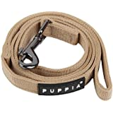 Authentic Puppia Two Tone Lead, Beige, Large