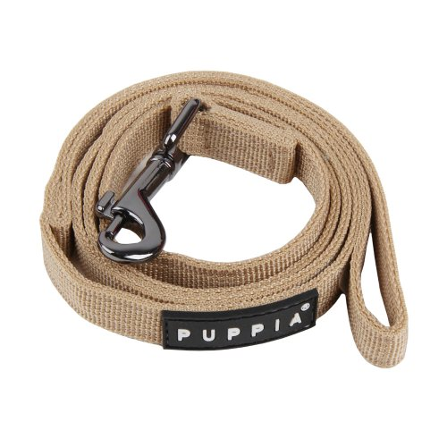 Image of Puppia Authentic Two Tone Lead, Beige, Small