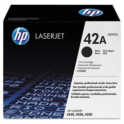 Hp 42A Black Original Laserjet Toner Cartridge For Us Government