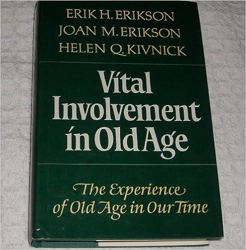 Book Vital Involvement in Old Age