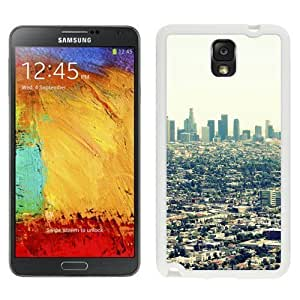 NEW Custom Designed For SamSung Galaxy S4 Case Cover Phone With Los Angeles City View_White Phone