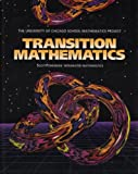 Transition Mathematics, 1995, University of Chicago School Mathematic Project Staff, 0673457451
