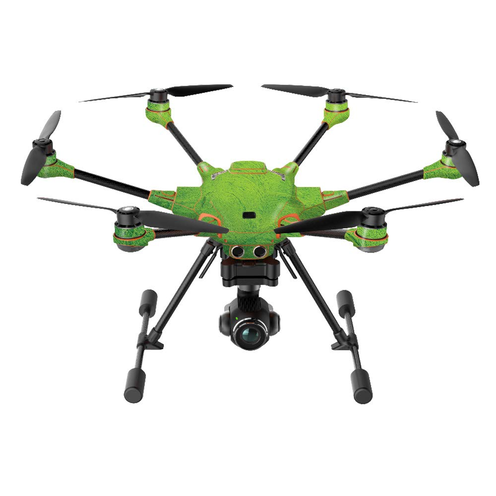 MightySkins Skin Compatible with Yuneec H520-G Quadcopter Drone - Green Cement | Protective, Durable, and Unique Vinyl Decal wrap Cover | Easy to Apply, Remove, and Change Styles | Made in The USA