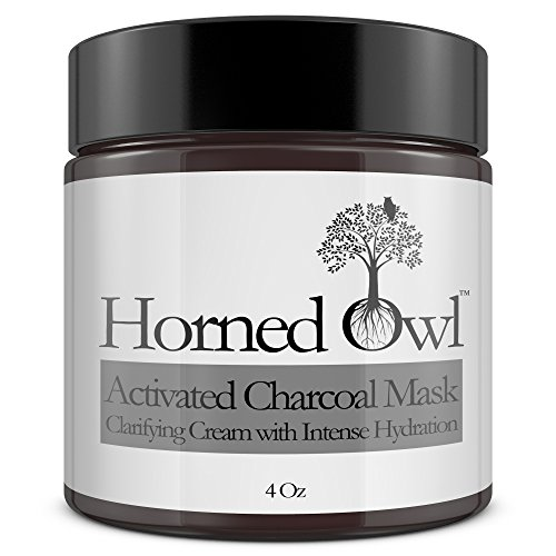 Activated Charcoal Mask for Minimizing pores, removing toxins and dirt. Natural Organic Ingredients. Helps with blackheads and acne. Deep Clean with moisturization