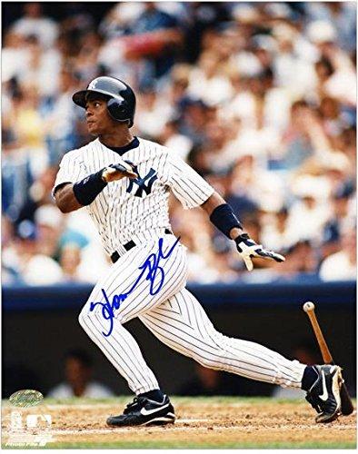 Homer Bush New York Yankees Autographed 8