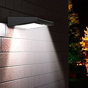 51TaR4M18GL. SS300  - Brightest 30 LED Solar Light, Mulcolor Outdoor Wireless Waterproof Motion Sensor Wall Light Solar Powered Security Light with Motion Activated Auto On/Off for Garden, Patio and Pathway