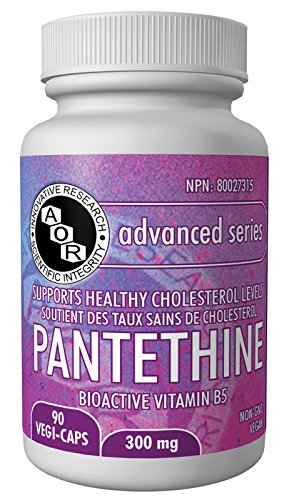 AOR Pantethine, 90 Capsules by AOR