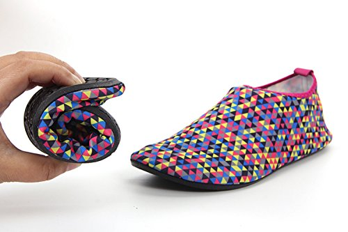 triangle Cherry Footwear Aqua Socks Multicoloured Women's VarctikZ XwRqAvYY