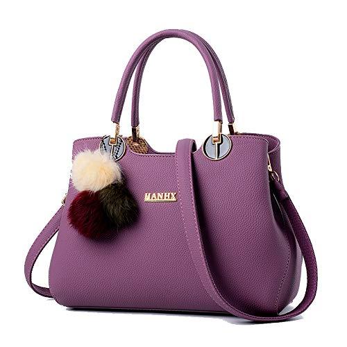 Cosmetica Viaggio Da Donna Mano Purple Per A Borsa Tracolla Moda Flht Secchiello Spalla Pelle In qP7YFW